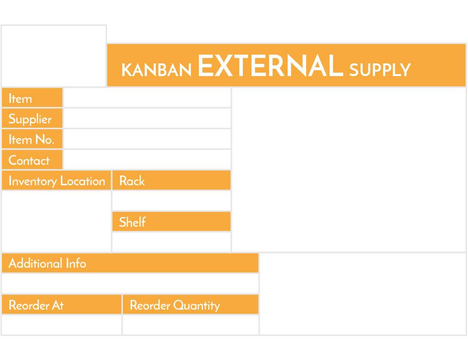 kanban label